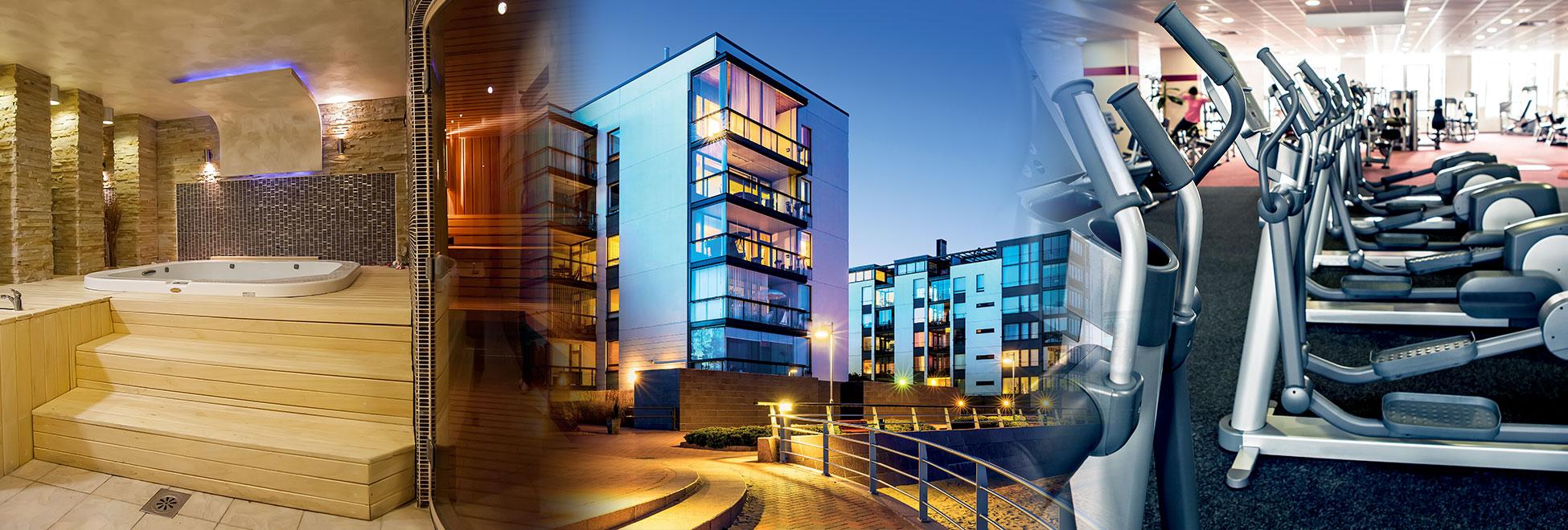 sistemi integrati di risparmio energetico per hotel, ospedali, palestre, spa